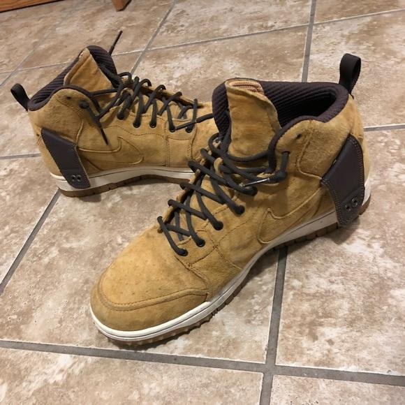 """big sale e035a f6a6d Nike Dunk CMFT Sneakerboot """"Wheat"""". M 5be8cc4d2e1478b467c71807"""